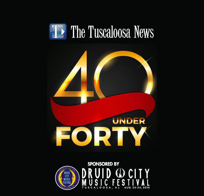 40 Under Forty Cover Image